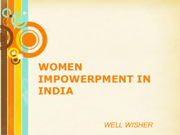 women empowerment women empowerment womenimpowerpment in well powerpoint templates