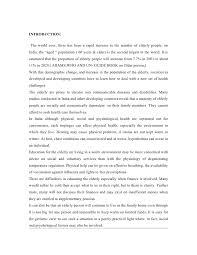 elderly care dissertation gautam 4