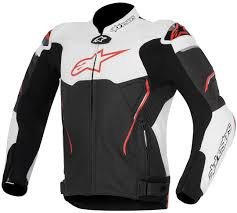 alpinestars atem leather jacket clothing jackets motorcycle black white red alpinestars jackets high tech materials