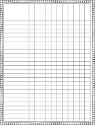 blank chart template for teachers. Blank Class List Template   Finally, A Cute Lesson Plan Intended  For Chart Blank Chart Template Teachers