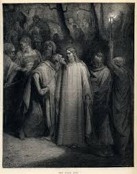 the song s s describe judas betrayal of depicted here in the judas kiss 1886 by gustave doré