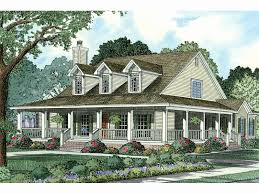 country style home plans 20 new single story house plans with wrap