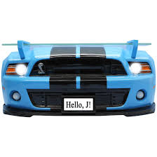 2016 shelby mustang gt500 light up 3 d wall shelf
