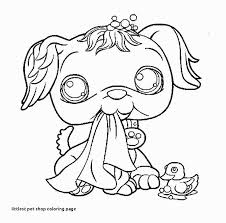 Coloring Pages Littlest Pet Shop Animals Fresh Printable Coloring