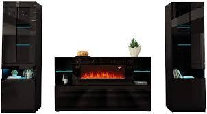 komi 03 electric fireplace modern wall