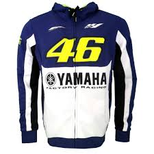 yamaha jacket. aliexpress.com : buy 2017 black motogp 46 valentino rossi vr46 jacket for yamaha m1 racing men\u0027s hoodie adult sports sweatshirt jackets s xxl from e