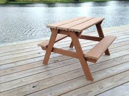 toddler picnic table plans included cost s
