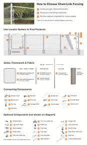 chain link fence post sizes. Interesting Sizes Midwest Air Technologies Chain Link Fence Guide For Chain Link Fence Post Sizes