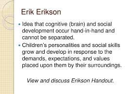 Handout Erikson Essay Example