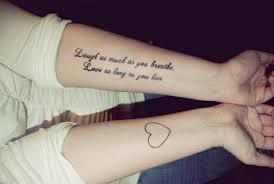 Kleine Tattoo Spr Che Englisch Tattoo Arts
