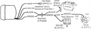wiring diagram sun pro tach wiring diagram early tachs and sunpro super tach ii at Sun Tachometer Wiring 2