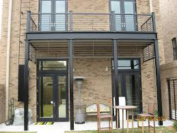 Decorative Metal Porch Posts Decorative Support Posts Minimalist Design With Rai2501 Steel