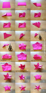 Anleitung Für Den Origami Stern Weihnachtsstern Basteln