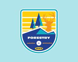 Ikea Logo Design Ikea Badges On Behance