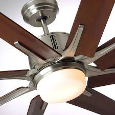96 inch ceiling fan brushed steel modern with light