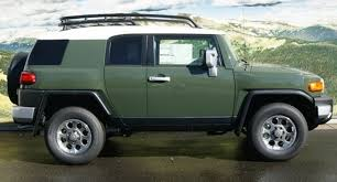 army green 2018 fj cruiser paint cross reference