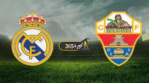 بث مباشر | مشاهدة مباراة ريال مدريد وإلتشي اليوم 30/12 الدوري الإسباني