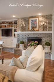 Best 25+ Painted bricks ideas on Pinterest | Paint brick, Annie sloan chalk  paint for brick fireplace and White wash fireplace brick