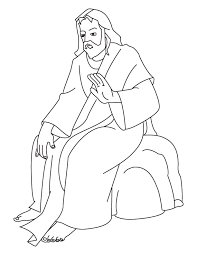 Small Picture Jesus Coloring Pages 2 Coloring page
