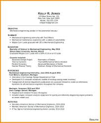 Sample Resume For Summer Internship Best Of Sample Resume For Internship Mechanical Engineering Sample Resumes