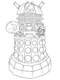 dr who coloring pages. Dr Who Coloring Page And Pages