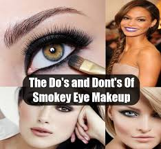 the do s and dont s of smokey eye makeup