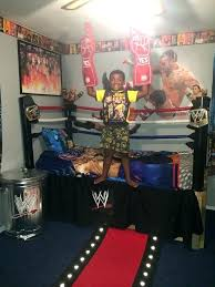 Wwe Room Wwe Collection Room Tour Wwe Roman Reigns News Enchanting Wrestling Bedroom Decor