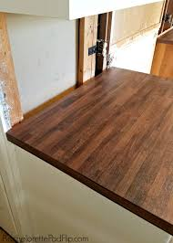 attractive laminate butcher block countertops for your residence idea