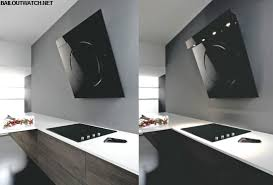 custom modern range hood with wood trim modern range hood h63