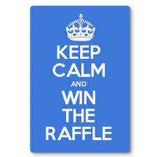 raffle sign keep calm and win the raffle keep calm and carry on