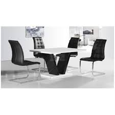 zara black glass top table 120cm zara white glass top table 120cm