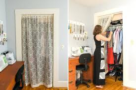 ... Medium Size of Curtains: Marvelous Curtains For Closet Doors Picture  Inspirations Curtain Door Freshnd: