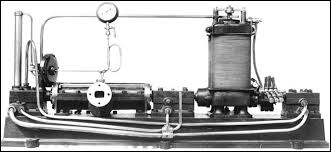 first electric generator. Modren Electric Parsonu0027s First Steam Turbine Was Connected To A Small Electric Generator To First Electric Generator