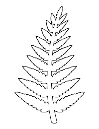 ca2c649bf471cfc1803ece891dea72b1 fern pattern use the printable outline for crafts, creating on template pdf download