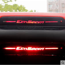 Car Brake Light Stickers Jameo Auto Carbon Fiber Car Rear Brake Lights Sticker Brakelight Stickers For Ford Ecosport 2012 2013 2014 2015 2016 2017 Cars