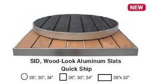 round outdoor table top. Emu SID Indoor/Outdoor Table TOP ONLY 34\ Round Outdoor Top U