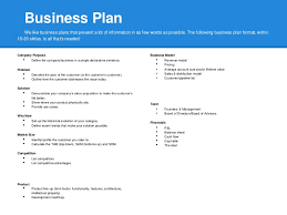 Sample Business Plans Templates Creating A Business Plan Template Best Design And Samples For