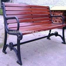 red outdoor bench china cast iron solid wood patio bench outdoor bench weather resistant park bench red garden bench outdoor furniture