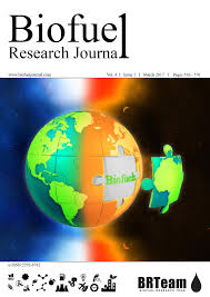 research journal biofuel research journal brj