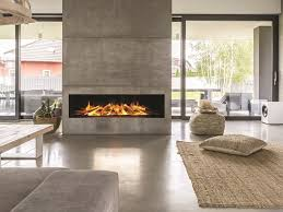 electric built in glass fireplace with remote control linea gf 1030 by british fires