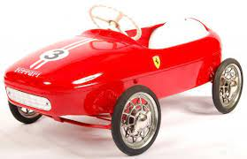 Rare 1960 S Morellet Guerineau Baby Ferrari Child S Pedal Car Lot 5 Private Collection Of Pedal Cars Worldwide Delivery Available On All Items See Www Eastbristol Co Uk At East Bristol Auctions