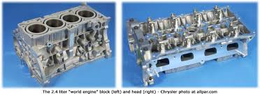 chrysler tiger shark and world gas engines 1 8 2 0 2 4 chrysler 2 4 liter world engine block