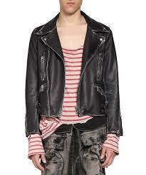 l inde le palais faith connexion men collections spring summer 2018 vintage leather biker jacket