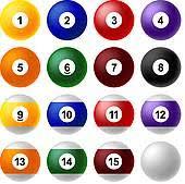 pool table balls clipart.  Pool Billiard Balls  Ball Set And Pool Table Balls Clipart GoGraph