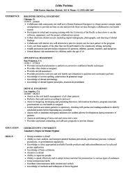 Dental Hygiene Resume Sample Dental Hygienist Resume Samples Velvet Jobs Examples Of Dental 55