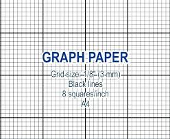 Graph Paper Grid Image 0 Coordinate Simple Generator Pdf