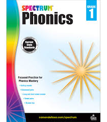 The activities can be used in kindergarten or 1st grade or for remedial work in other grades. Spectrum Phonics 1st Grade Workbook State Standards For Grade 1 Phonics Vowel And Consonant Practice With Answer Key For Homeschool Or Classroom 160 Pgs Spectrum 0044222239770 Amazon Com Books