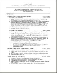 business systems analyst resume is one of the best idea for you to make a  good