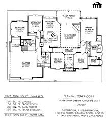4 Car Garage House Plans  Four Car Garages Home Floor PlansFour Car Garage House Plans