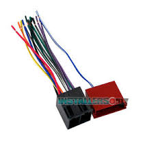 aftermarket car stereo radio wiring harness 7303 wire adapter image is loading aftermarket car stereo radio wiring harness 7303 wire
